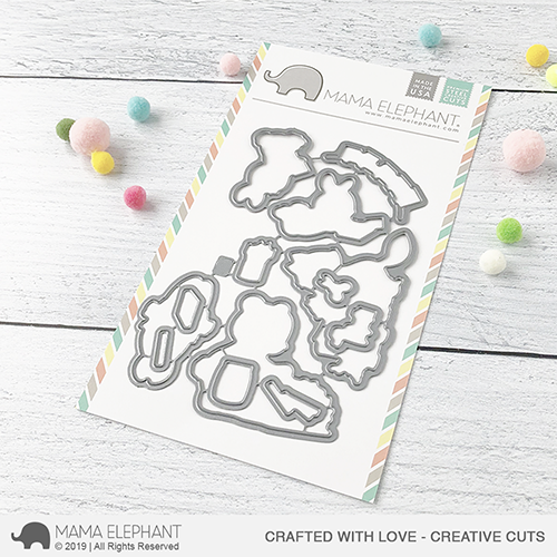 *NEW* - Mama Elephant - Crafted With Love - Creative Cuts