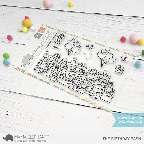 *NEW* - Mama Elephant - THE BIRTHDAY BASH