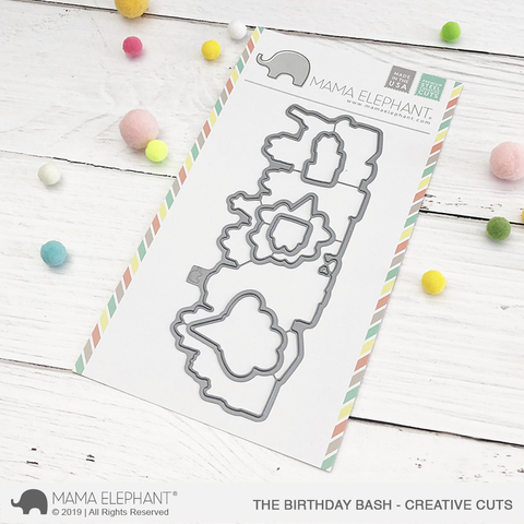 *NEW* - Mama Elephant - The Birthday Bash - Creative Cuts