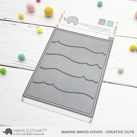 Mama Elephant - Making Waves Cover - Creative Cuts