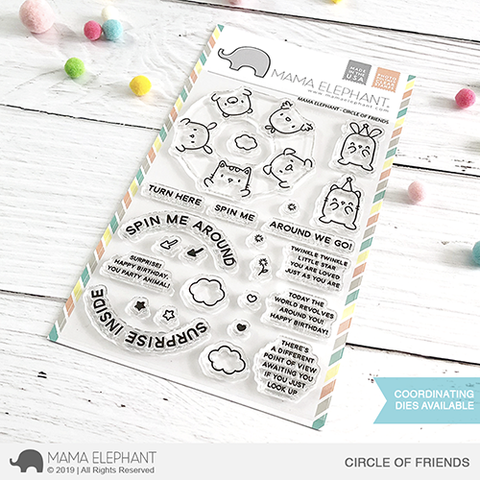 *NEW* - Mama Elephant - CIRCLE OF FRIENDS