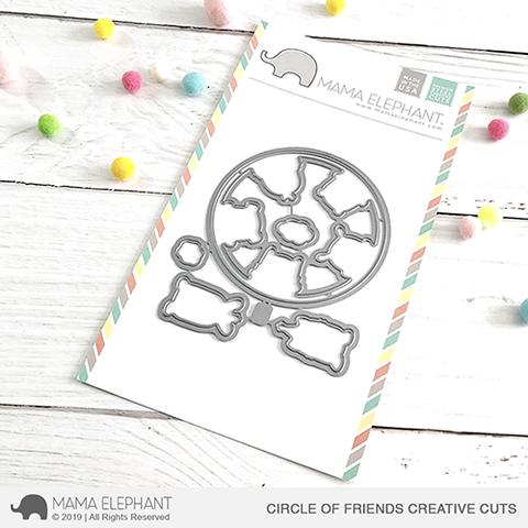 *NEW* - Mama Elephant - Circle of Friends Creative Cuts