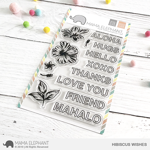 *NEW* - Mama Elephant - HIBISCUS WISHES