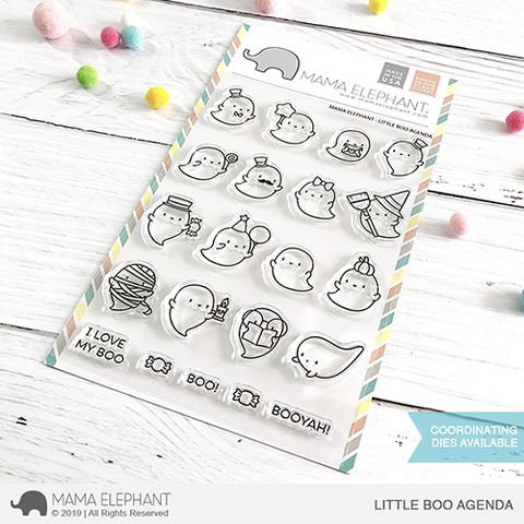 *NEW* - Mama Elephant - LITTLE BOO AGENDA