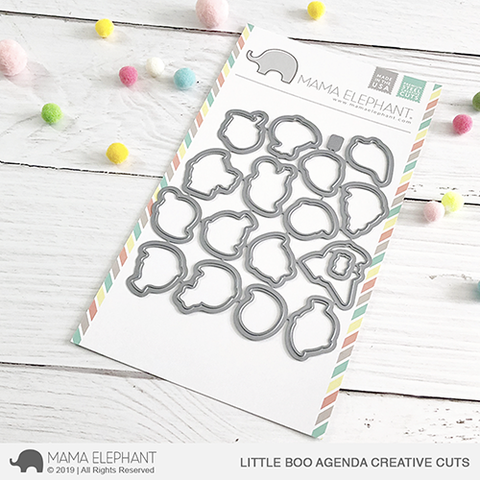 *NEW* - Mama Elephant - Little Boo Agenda Creative Cuts