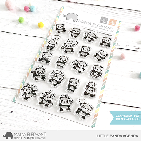 *NEW* - Mama Elephant - LITTLE PANDA AGENDA