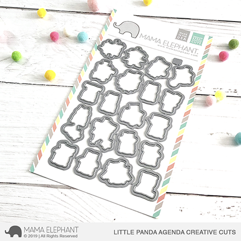 *NEW* - Mama Elephant - Little Panda Agenda Creative Cuts