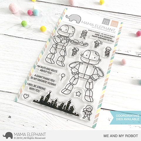 *NEW* - Mama Elephant - ME AND MY ROBOT