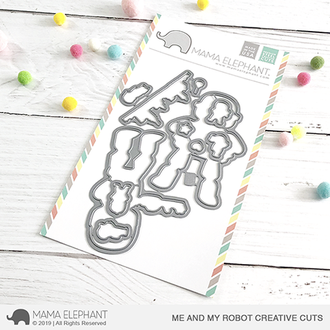 *NEW* - Mama Elephant - Me and My Robot Creative Cuts