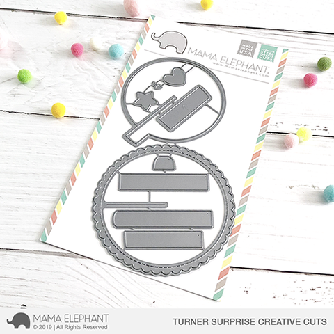 *NEW* - Mama Elephant - Turner Surprise - Creative Cuts