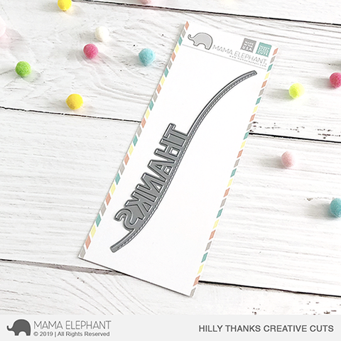 *NEW* - Mama Elephant - Hilly THANKS- Creative Cuts