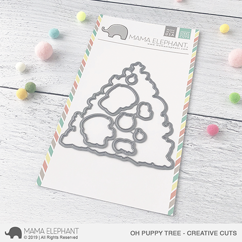 *NEW* - Mama Elephant - Oh Puppy Tree Creative Cuts