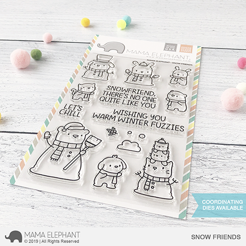 *NEW* - Mama Elephant - SNOW FRIENDS