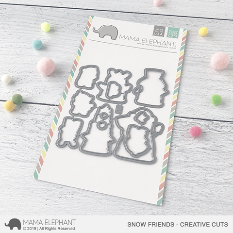 *NEW* - Mama Elephant - Snow Friends Creative Cuts