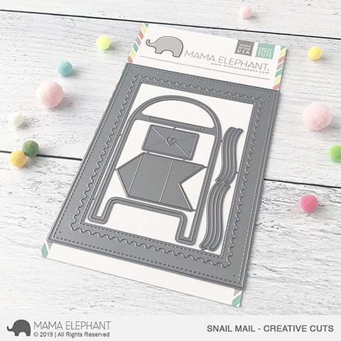 *NEW* - Mama Elephant - Snail Mail - Creative Cuts