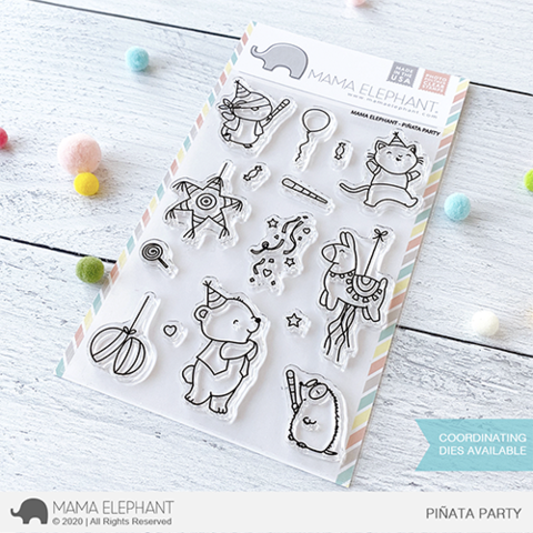 *NEW* - Mama Elephant - PINATA PARTY