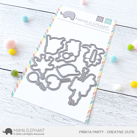 *NEW* - Mama Elephant - Pinata Party - Creative Cuts