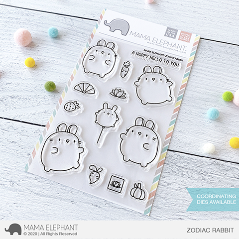 *NEW* - Mama Elephant - ZODIAC RABBIT