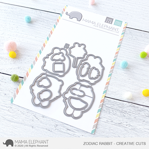 *NEW* - Mama Elephant - Zodiac Rabbit - Creative Cuts