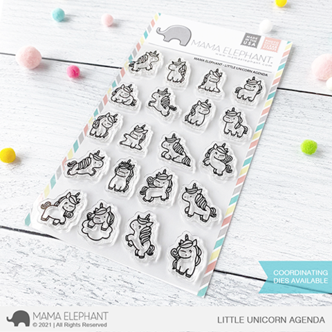 *NEW* - Mama Elephant - LITTLE UNICORN AGENDA