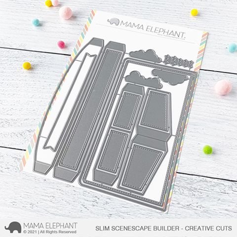 *NEW* - Mama Elephant - Slim Scenescape Builder - Creative Cuts