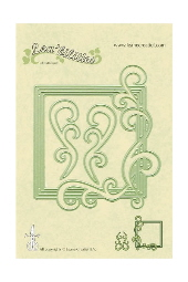Lea'bilities Cutting/Embossing Die - Frame Square Curve