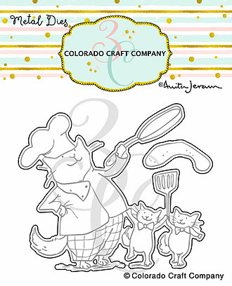 Colorado Craft Company - Anita Jeram~Dad's Cooking Dies
