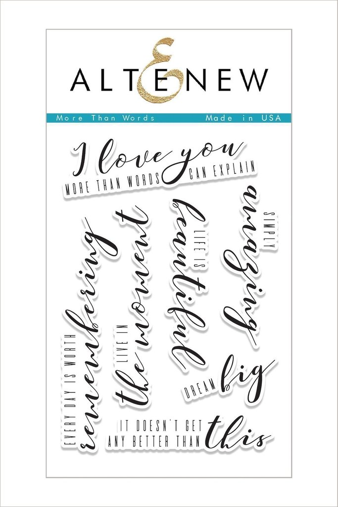 Altenew - More Than Words Stamp Set