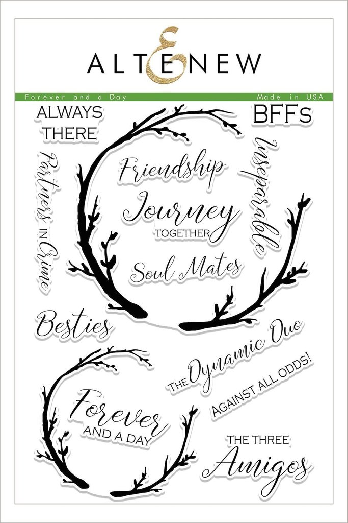 *NEW* - Altenew - Forever and a Day Stamp Set