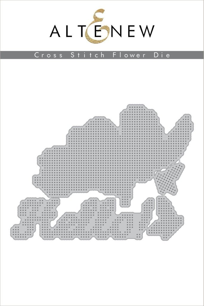 Altenew - Cross Stitch Flower Die Set