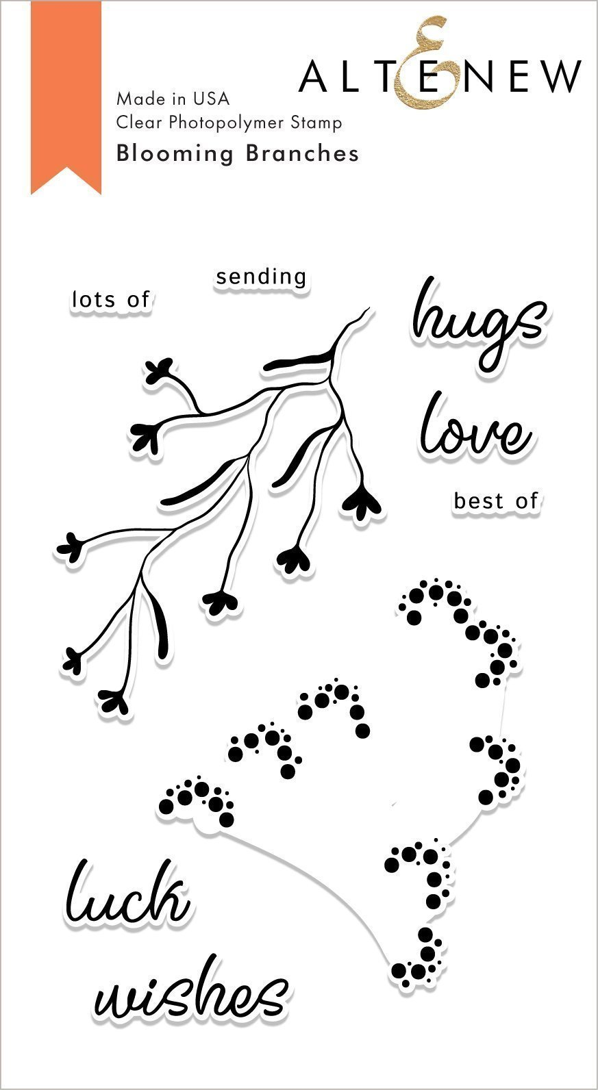 *NEW* - Altenew - Blooming Branches Stamp Set