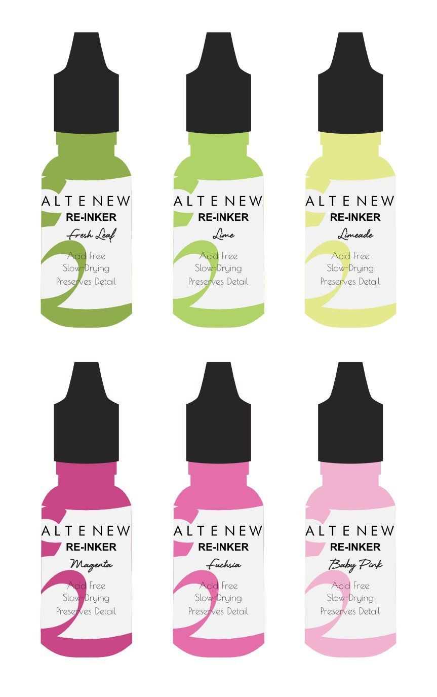 *NEW* - Altenew - Spring Bouquet Re-inker Set