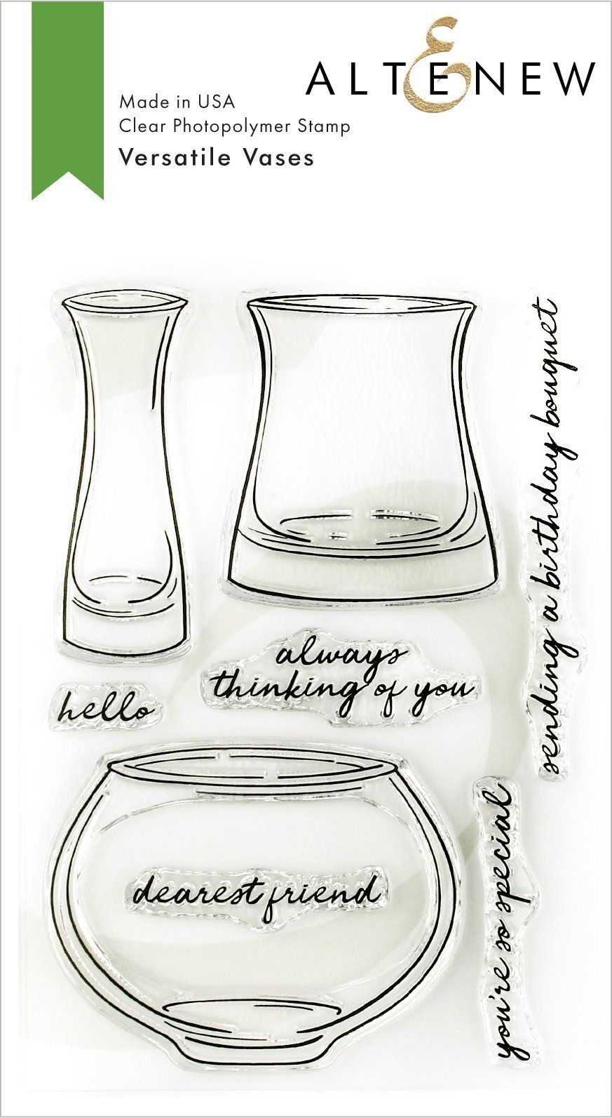 *NEW* - Altenew - Versatile Vases Stamp Set