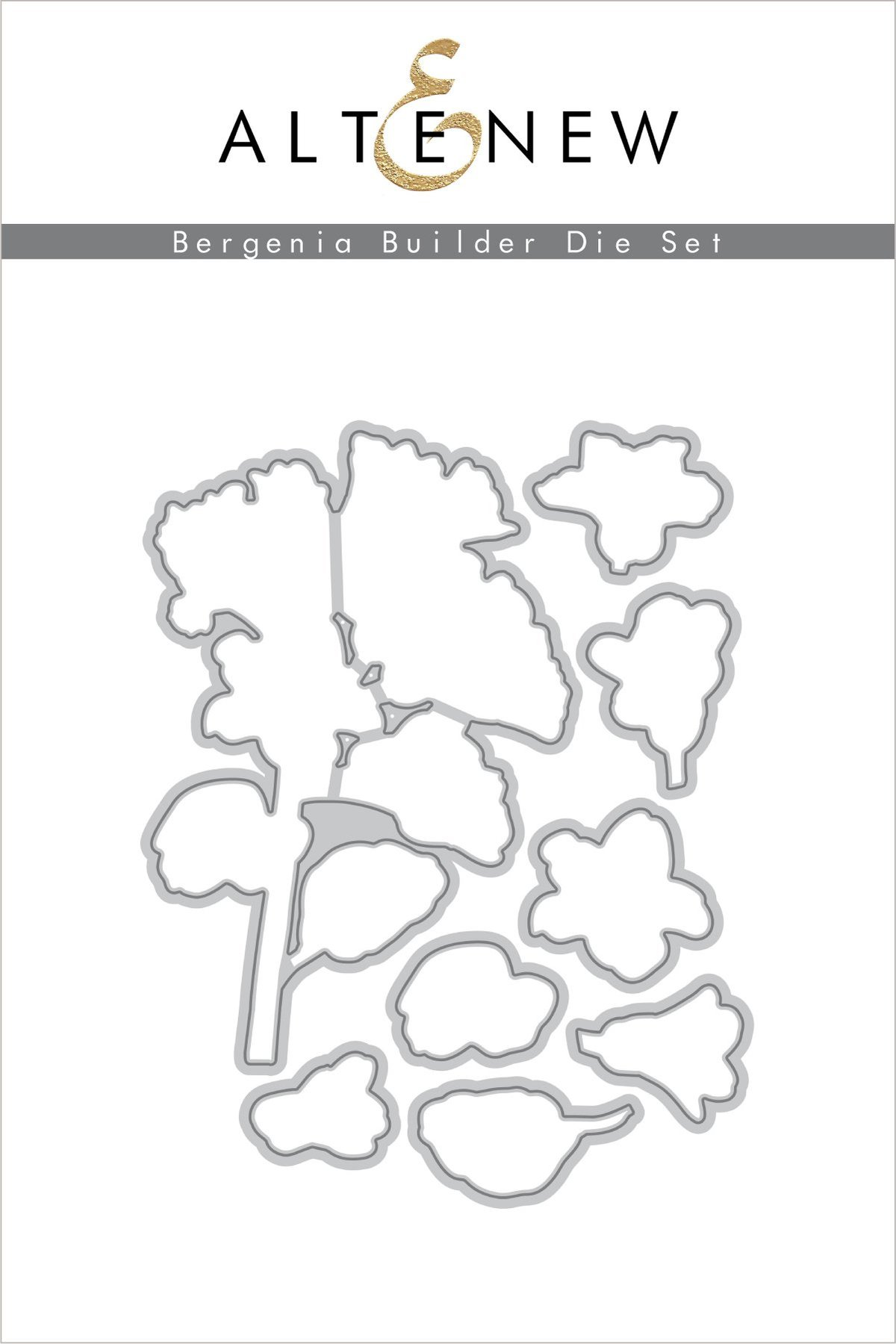 *NEW* - Altenew - Bergenia Builder Die Set