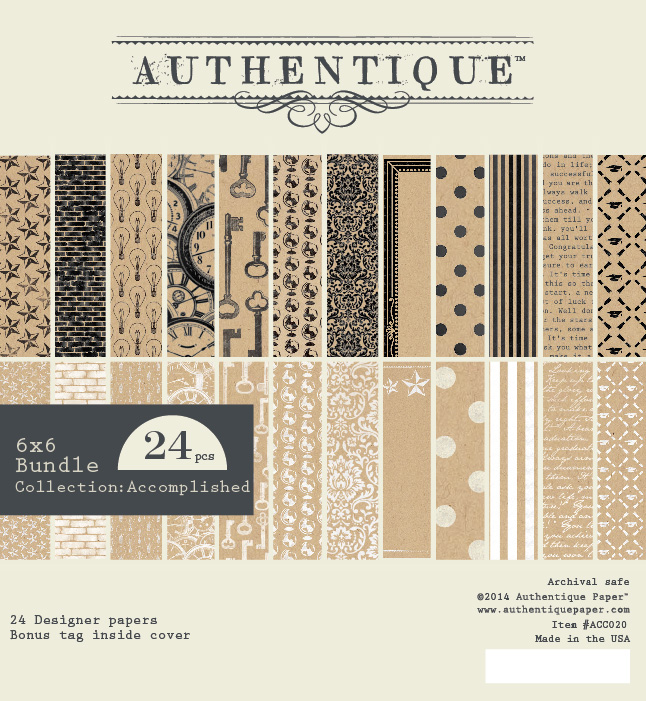 Authentique - Accomplished 6 x 6 Pad