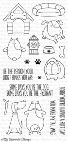 #### D  My Favorite Things - You Make My Tail Wag Stamp Set STAMP AND MATCHING DIE