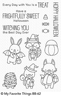 #### D My Favorite Things - BB Frightfully Sweet stamp set with matching die