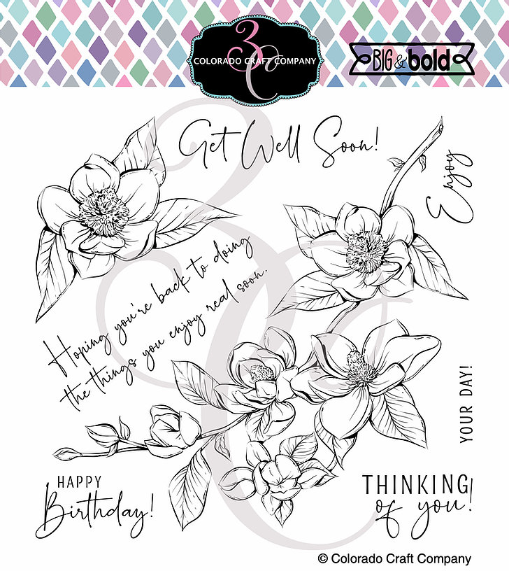 Colorado Craft Company - Big & Bold~Thinking Of You Magnolias