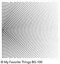 My Favorite Things - Radiating Halftone Background