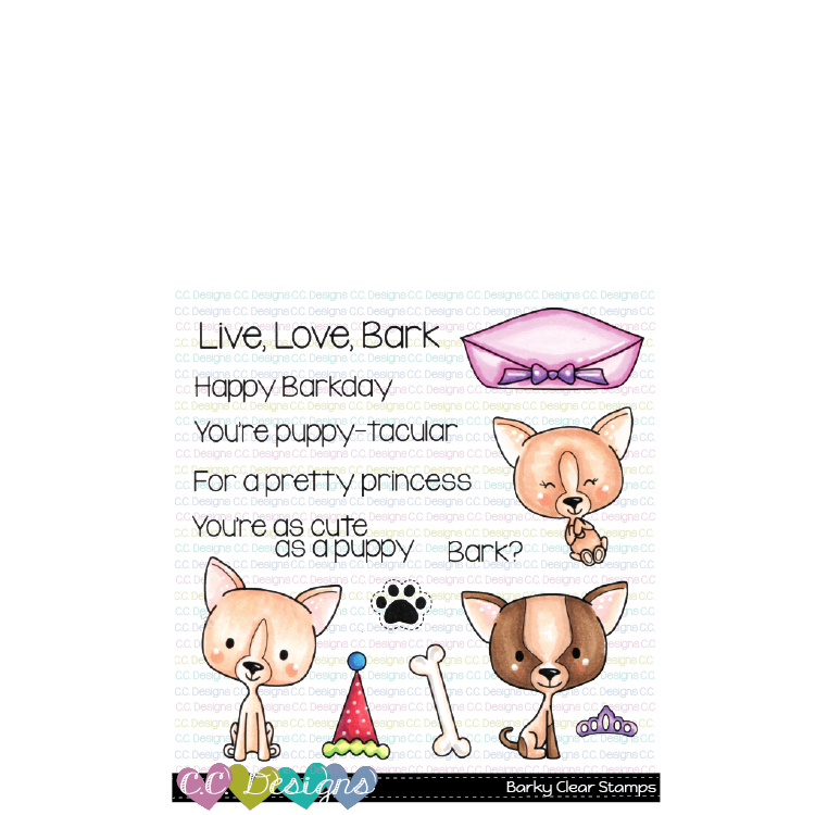 JS* CC Designs - Barky Clear Stamps