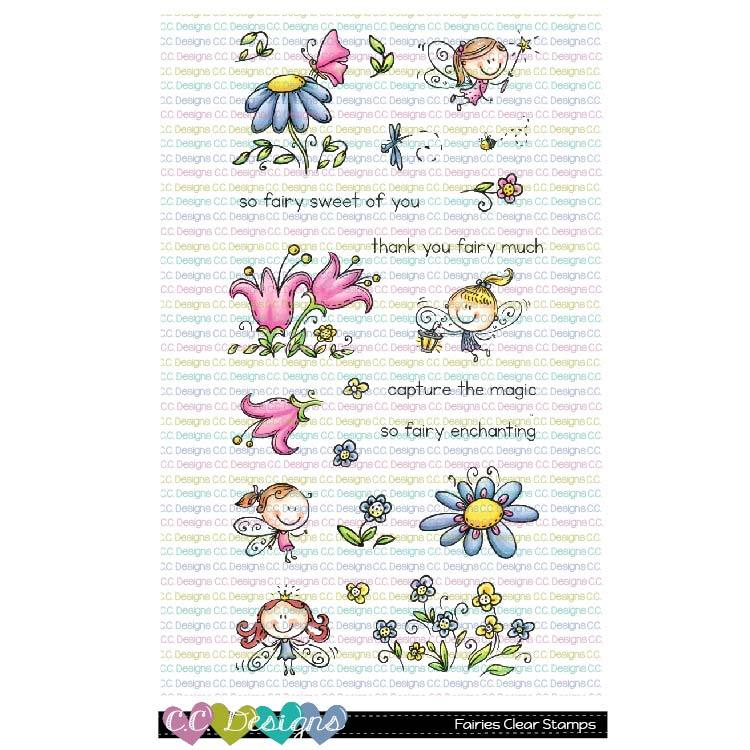 JS* CC Designs - Fairies Clear Stamps