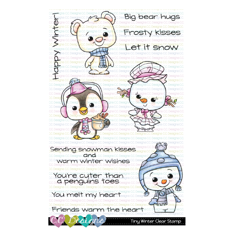 *NEW* - CC Designs - Tiny Winter Clear Stamp Set