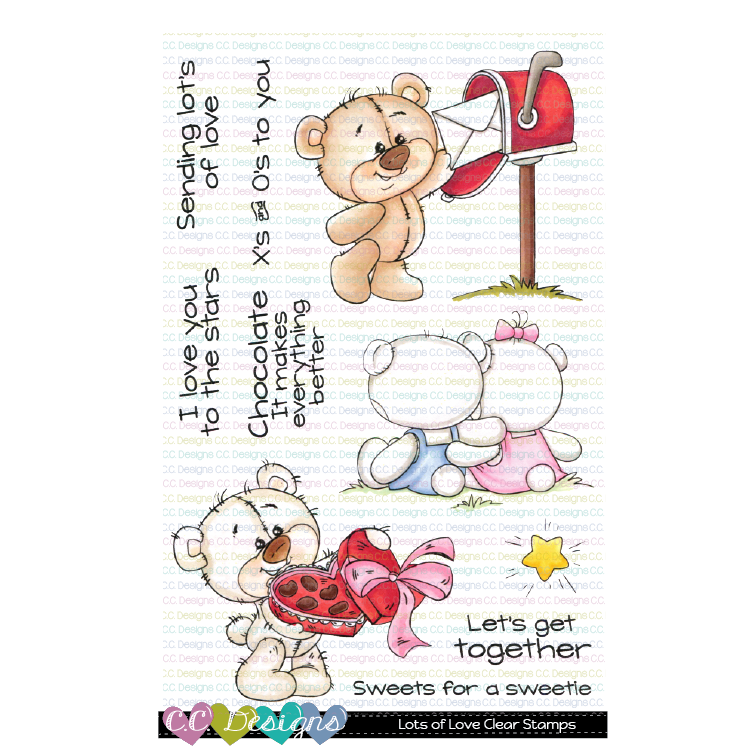 *NEW* - CC Designs - Lots of Love Clear Stamp Set