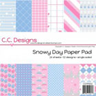 "C.C. Designs Paper Pad 6""X6"" Snowy Day"
