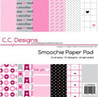 "C.C. Designs Paper Pad 6""X6"" Smoochie"