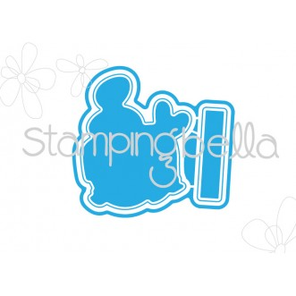 *SALE* Stamping Bella - Easter Bunny Chick Cut it out die