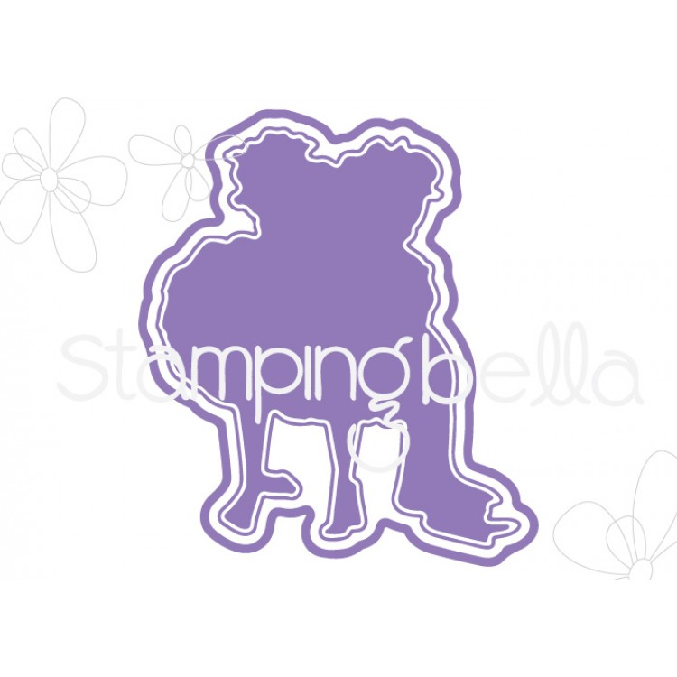 Stamping Bella - tiny townie huggy friends CUT IT OUT DIE