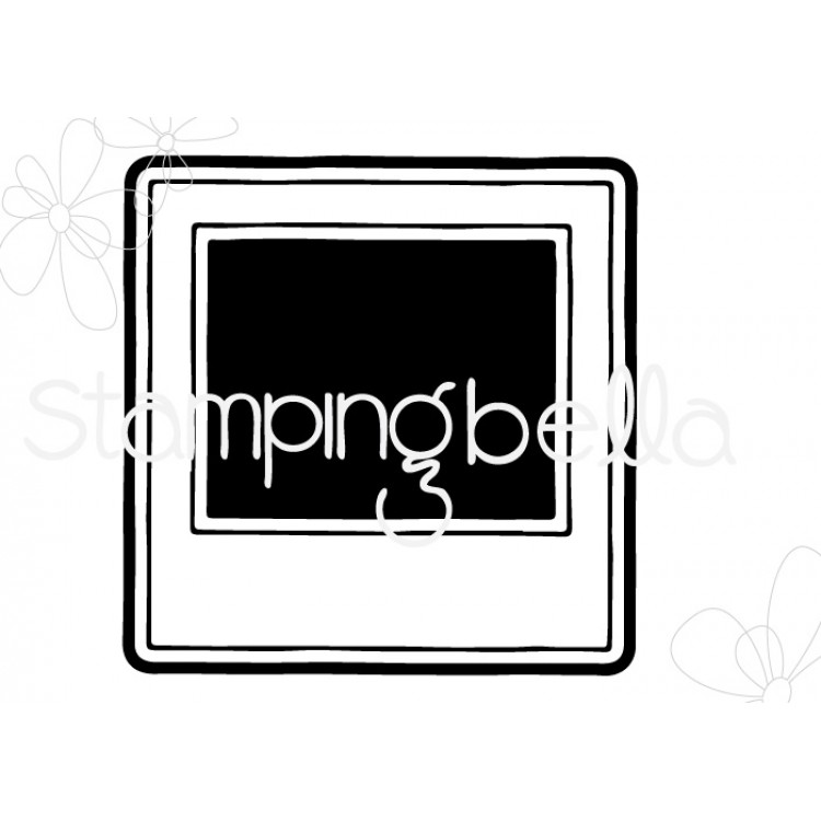 *PRE-ORDER* - Stamping Bella - SNAPSHOTS-POLAROID CUT IT OUT DIE