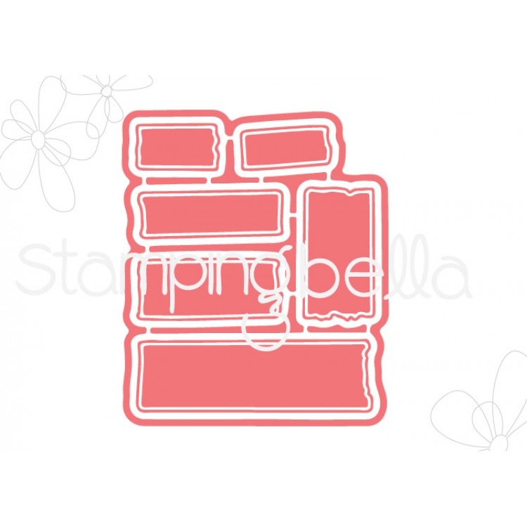 *PRE-ORDER* - Stamping Bella - WASHI TAPE SET 1 CUT IT OUT DIE