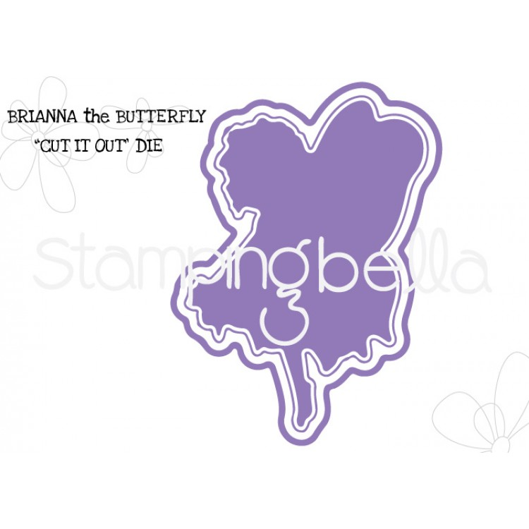 **S** Stamping Bella - Brianna the butterfly CUT IT OUT DIE